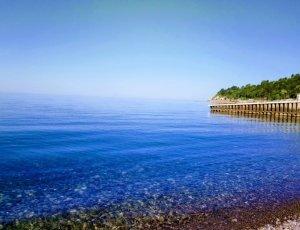 Пляж Голубая Горка