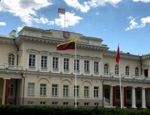 Фото Президентский дворец в Вильнюсе