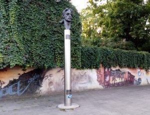 Фото Памятник Фрэнку Заппе