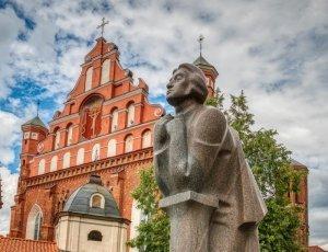 Фото Памятник Адаму Мицкевичу