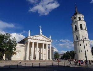 Фото Вильнюсский кафедральный собор Звонница
