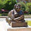 Фото Памятник «Курящая женщина» 6