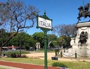 Площадь Италии