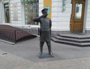 Фото Памятник Городовому в Омске