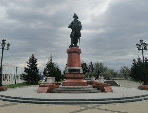 Фото Памятник Резанову Николаю Петровичу