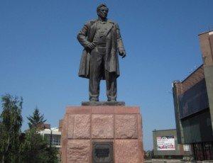 Памятник В.П. Астафьеву