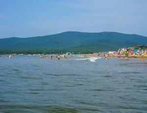Пляж бухты Лазурная