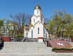 Храм Часовня Андрея Первозванного