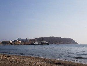 Пляж бухты Патрокл