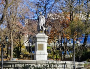 Фото Памятник герою гражданской войны Сергею Лазо