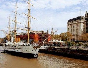 Корабль-музей «ARA Presidente Sarmiento»