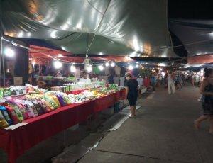 Ночной рынок Карон на территории Храма