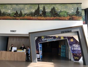Интерактивная галерея «Hello Van Gogh»