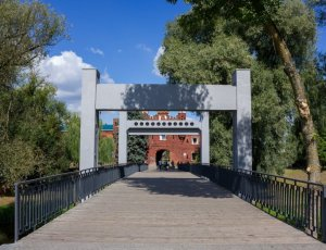 Фото Холмские ворота Брестской крепости