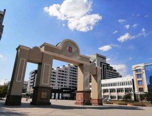 Фото Триумфальная арка 375-летия Красноярска