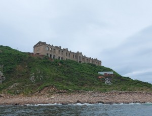 Бухта Новик на Русском острове