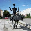 Фото Памятник Дон Кихоту в Омске 7