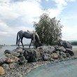 Фото Памятник основателям Красноярска «Лошадь белая» 9