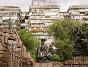 Фото Памятник Жамбылу Жабаеву