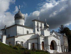 Церковь Варлаама Хутынского на Званице