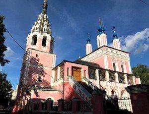 Свято-Георгиевский Собор: Церковь Георгия за верхом