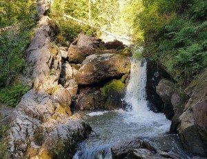 Водопад Третья Речка