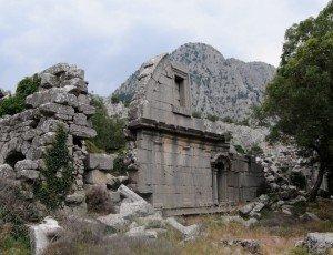 Античный древний город парка Термессос