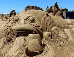 Фото Музей песчаных скульптур Sandland