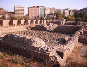 Музей под открытым небом «Римские бани Анкары»