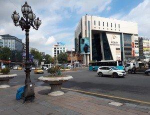 Площадь Кызылай