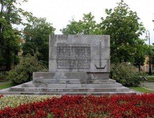 Памятник морякам-подводникам Балтийского флота