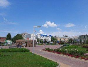 Фото Парк Народного единства в Калуге