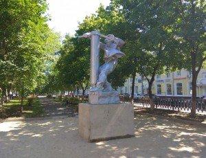 Скульптура сталевару