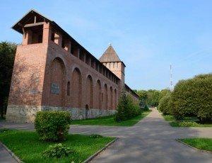Фото Смоленская крепостная стена