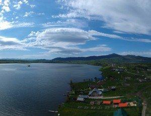 Белое озеро Алтайского края