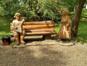 Парк деревянных скульптур «Чудики»
