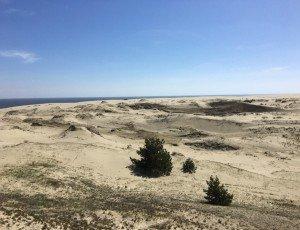Высота дюны Эфа