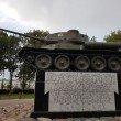 Фото Памятник освободителям Пскова: Танк Т-34 5