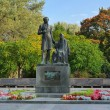 Фото Памятник Пушкину и няне в Пскове 9