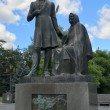 Фото Памятник Пушкину и няне в Пскове 5