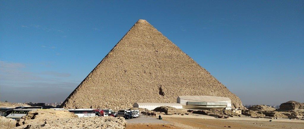 Внешний вид Пирамиды Хеопса
