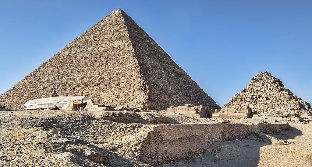 Стороны пирамиды