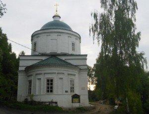 Фото Преображенская церковь в Плёсе