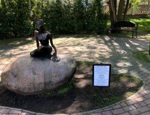 Фото Скульптура «Царевна-лягушка»