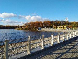 Фото Набережная вдоль Семёновского озера