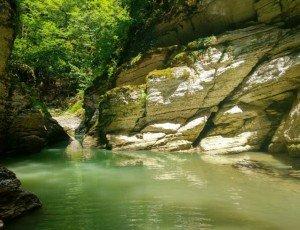 Фото Каньон реки Псахо