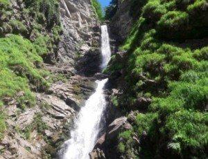 Водопад Безымянный (Аибга)