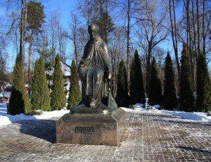 Фото Памятник Преподобному Савве Сторожевскому