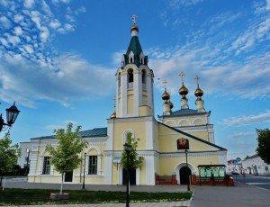 Фото Вознесенская церковь