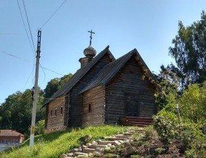 Церковь Михаила Архангела из Антоново
